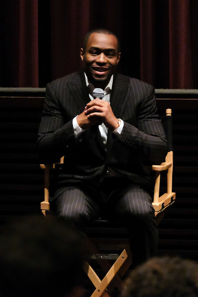 """Marc Lamont Hill attends the """"Stay Woke: The Black Lives Matter Movement"""" screening on May 24, 2016 in New York City."""