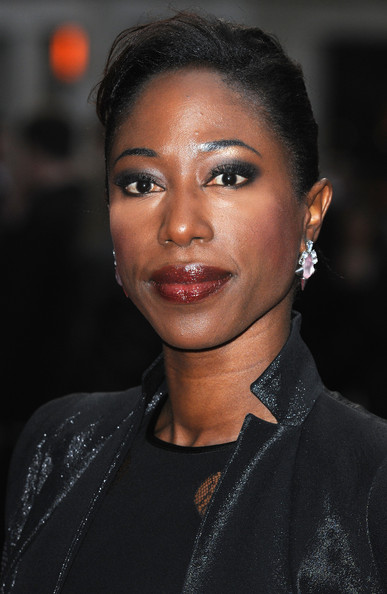 Actress Nikki Amuka-Bird attends the Festival Gala European Premiere of 'The Invisible Woman' during the 57th BFI London Film Festival at Odeon West End on October 17, 2013 in London, England.