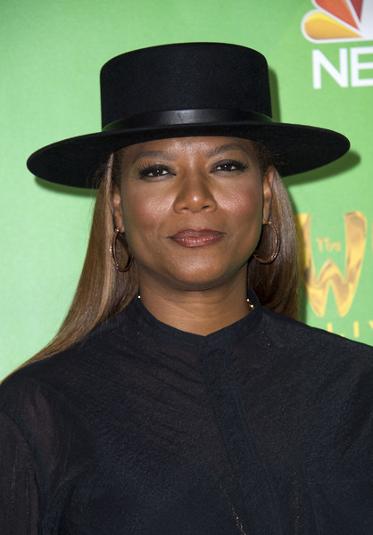 "Actress Queen Latifah attends ""The Wiz Live!"" photo opportunity in West Hollywood, California, on June 1, 2016. / AFP / VALERIE MACON"