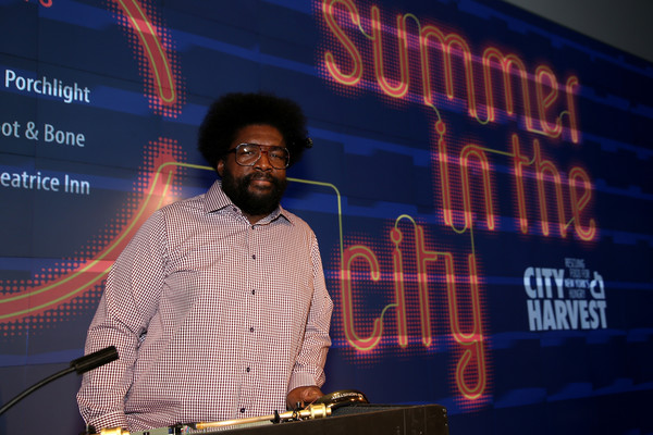 Questlove performs onstage at City Harvest's Summer In The City 2016 at IAC HQ on June 15, 2016 in New York City.