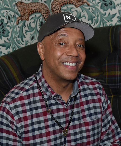 Russell Simmons poses for a photo after an interview at LinkedIn on May 26, 2016 in New York City.