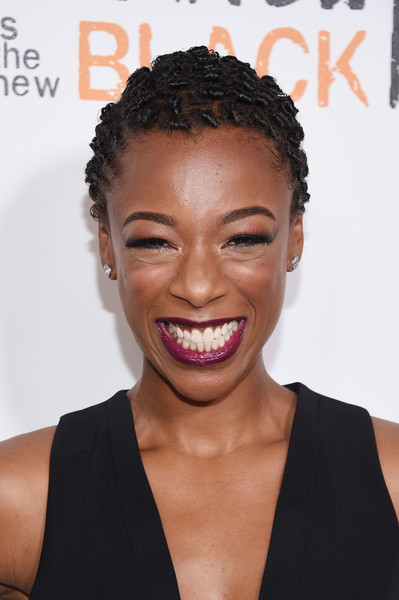 """Actress Samira Wiley attends """"Orange Is The New Black"""" premiere at SVA Theater on June 16, 2016 in New York City."""