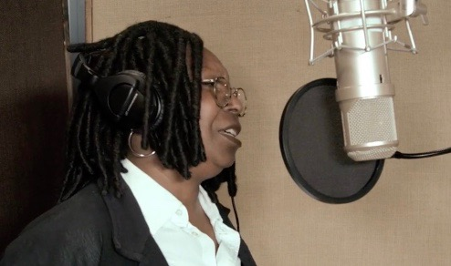 "Whoopi Goldberg records ""What the World Needs Now is Love"" for tge Broadway for Orlando Initiative"