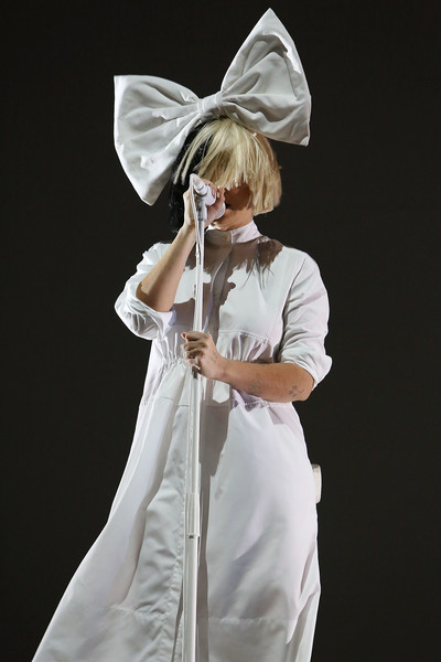 Sia performs during the opening night of Series Fest: Season Two at Red Rocks Amphitheatre on June 22, 2016 in Morrison, Colorado.