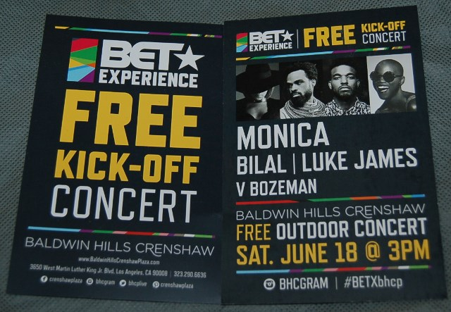 The Road to the BET Experience Kick off Concert: Photo Credit, Ricky Richardson