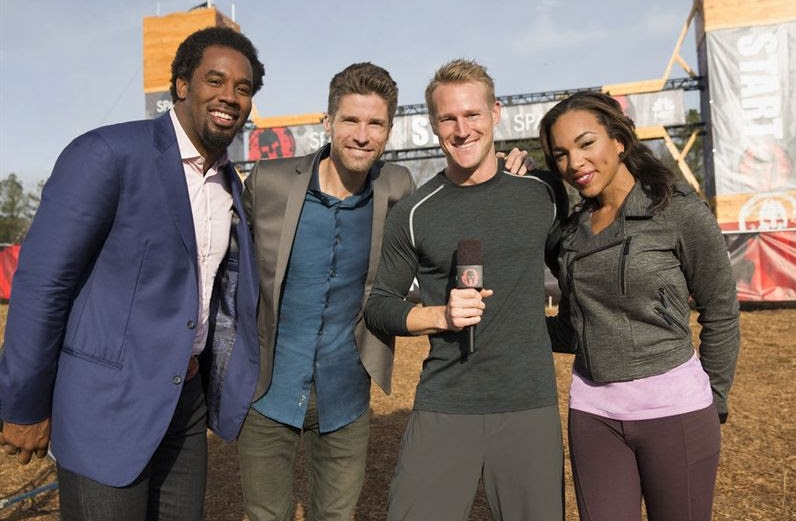 """Host & Reporters of NBC's """"Spartan: Ultimate Team Challenge"""""""