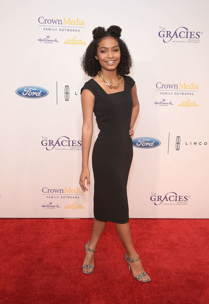 Yara Shahidi attends the 41st Annual Gracie Awards Gala at the Beverly Wilshire Four Seasons Hotel on May 24, 2016 in Beverly Hills, California.