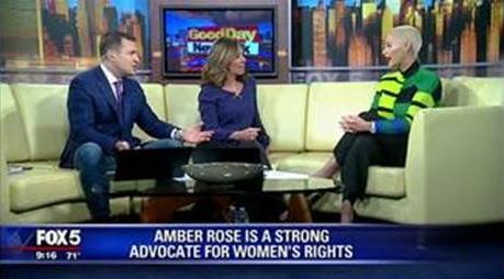 amber rose & fox 5 nyc