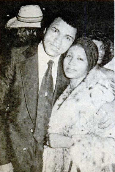 Muhammad Ali and Aretha Franklin