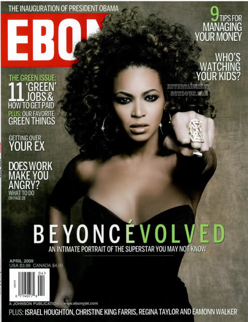 Beyonce On The Cover Of Ebony 95