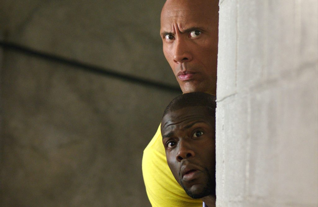 Dwayne Johnson and Keven Hart star in the Warner Bros Pictures presentation of Central Intelligence.