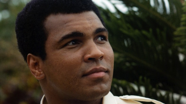 Muhammad Ali in a scene from the film 'The Greatest', 1977. (Photo by Columbia Pictures/Getty Images)