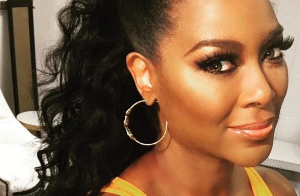 kenya moore - close up