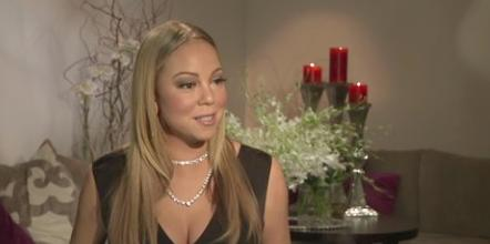 mariah carey - screenshot - the talk - et