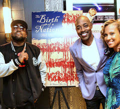 """ATLANTA, GA - JUNE 12:  Big Boi, Producer Will Packer and Heather Packer attend """"The Birth Of A Nation"""" private screening at The Packer House on June 12, 2016 in Atlanta, Georgia.  (Photo by Robin L Marshall/Getty Images)"""