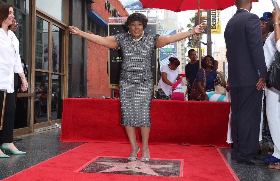 shirley caesar walk of fame