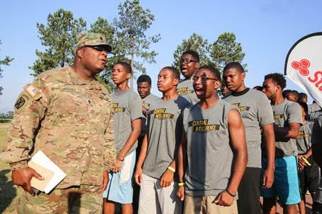 Steve Harvey Mentoring Camp, Central Intelligence