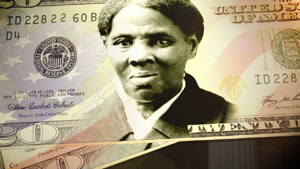 An image of Harriet Tubman seen on a $20 bill. (H.G. Smith / Ohio History Connection / MGN)