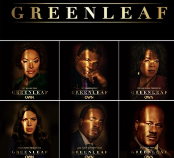 Cast of OWNs 'Greenleaf'