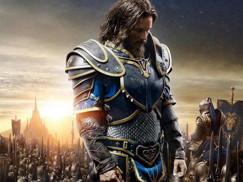 Travis Fimmel stars in the Universal Pictures' presentation of the CGI film Warcraft.