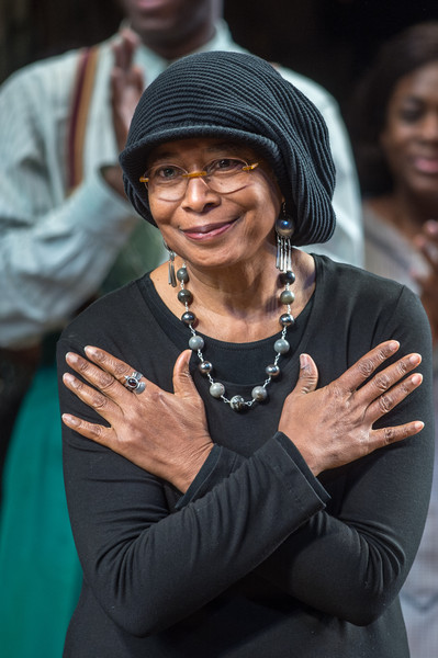 """""""The Color Purple"""" author Alice Walker attends the """"The Color Purple"""" Broadway Opening Night at The Bernard B. Jacobs Theatre on December 10, 2015 in New York City."""