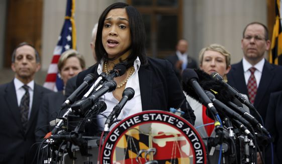 Baltimore State's Attorney Marilyn J. Mosby