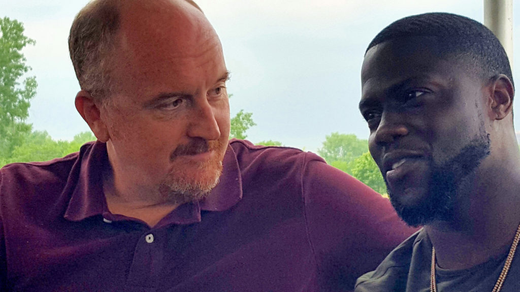 Louis C.K. and Kevin Hart at Liberty State Park, NJ (MMoore Photo)