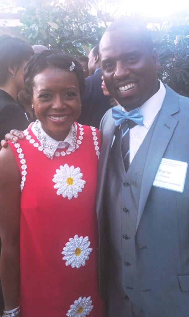Mellody Hobson and Baron Jay Littleton
