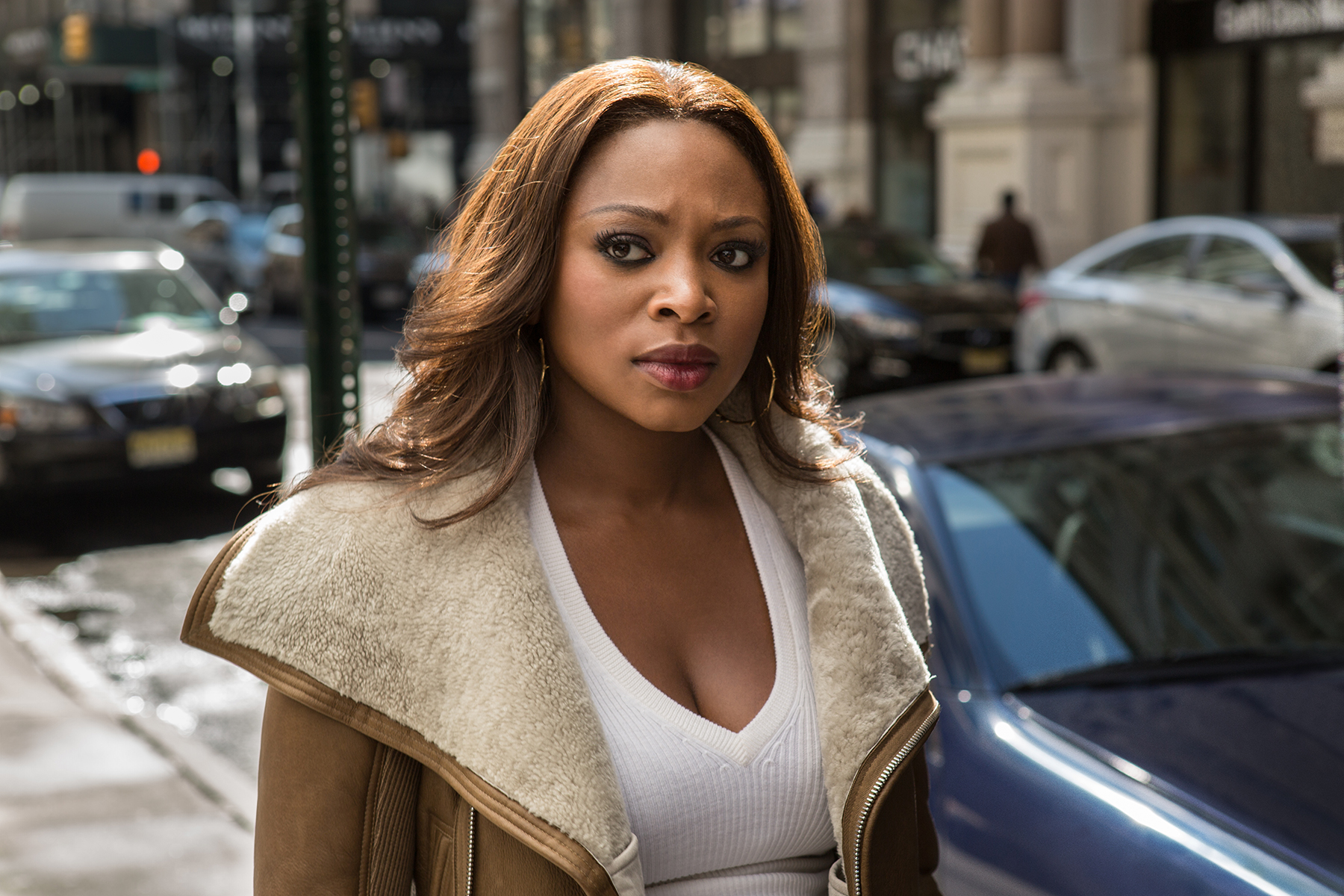 "Naturi Naughton as Tasha St. Patrick in ""Power"" Season 3 (Starz)"