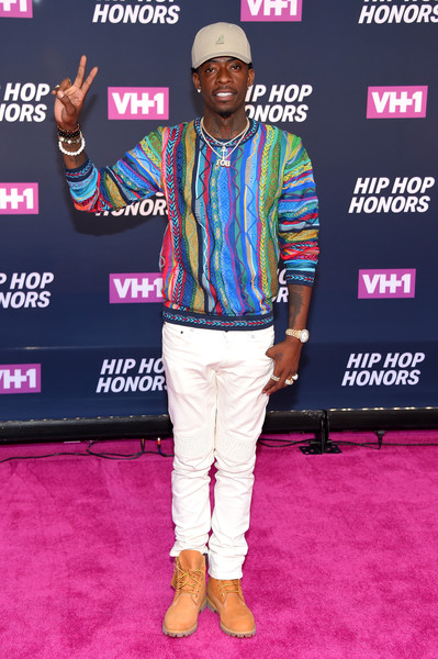 Rapper Rich Homie Quan attends the VH1 Hip Hop Honors: All Hail The Queens at David Geffen Hall on July 11, 2016 in New York City.