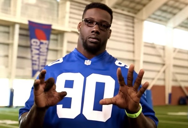 Jason Pierre Paul in PSA about fireworks safety