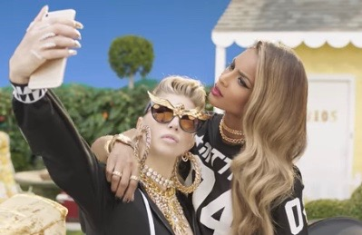 Fergie and Ciara in the video for M.I.L.F.$