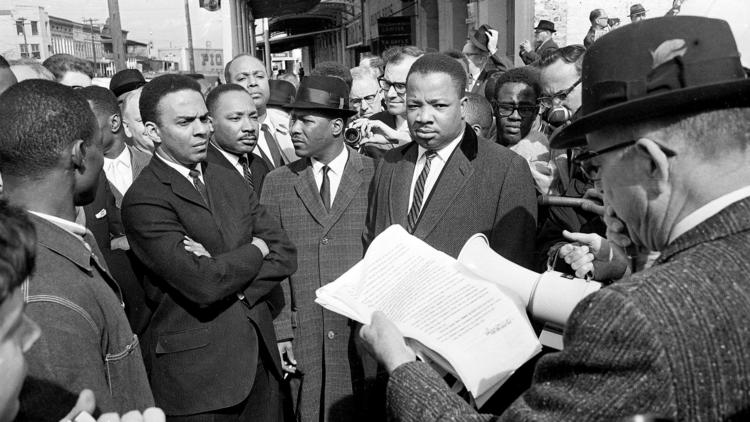 andrew young - mlk and others