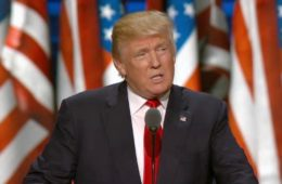 donald trump - accepting the gop nomination