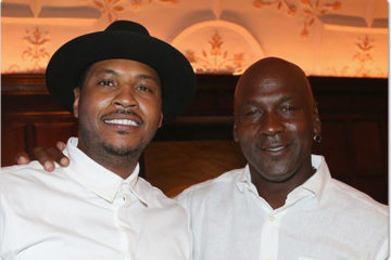 Carmelo Anthony, Michael Jordan