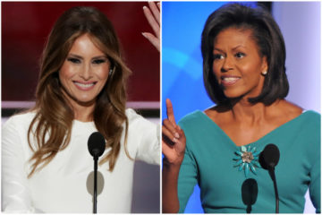 melania trump - michelle obama