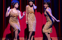 Sydney Morton, Valisia LeKae and Ariana DeBose of Motown The Musical