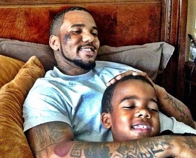 the game and son