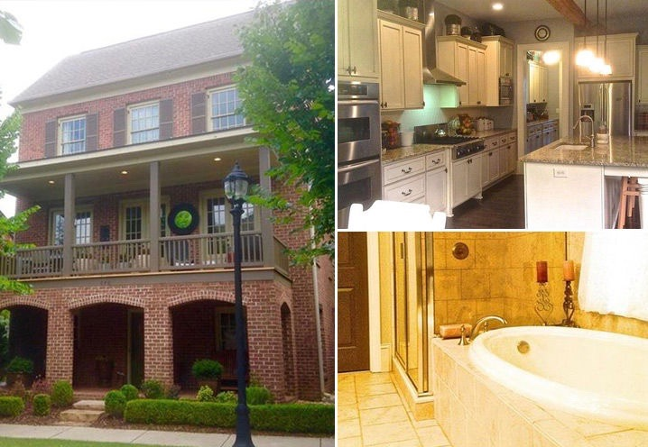 Home of Cynthia Bailey and Peter Thomas (Zillow)