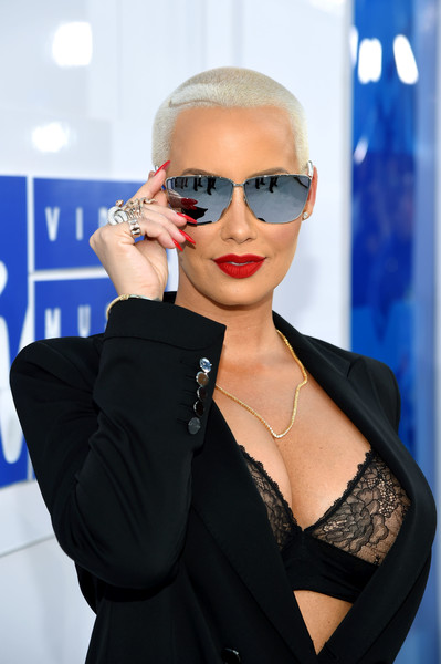 Amber Rose attends Pepsi during 2016 MTV Video Music Awards on August 28, 2016 in New York City.