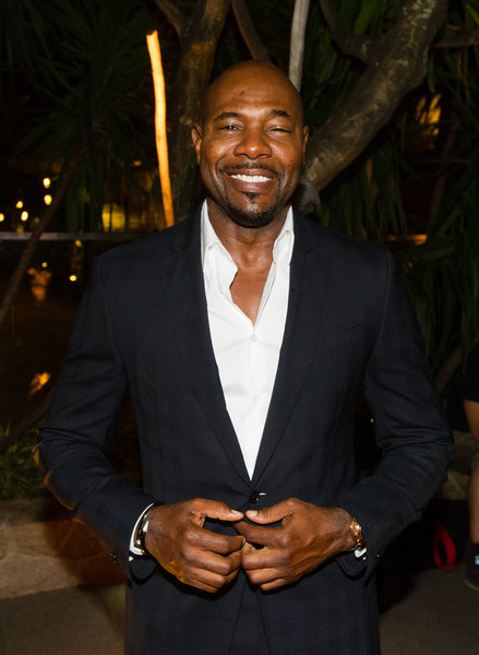 Director Antoine Fuqua attends Sony and Marina Bay Sands benefits Art Outreach at Sky on 57 at Marina Bay Sands on June 14, 2016 in Singapore.