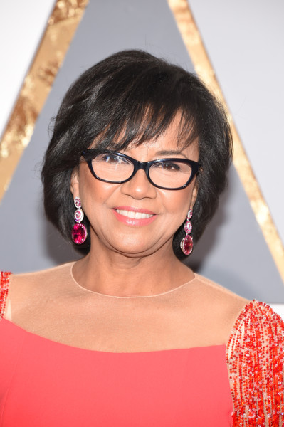 Academy President Cheryl Boone Isaacs attends the 88th Annual Academy Awards at Hollywood & Highland Center on February 28, 2016 in Hollywood, California.