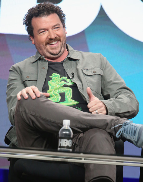 Danny McBride speaks onstage during the 'Vice Principals' panel discussion at the HBO portion of the 2016 Television Critics Association Summer Tour at The Beverly Hilton Hotel on July 30, 2016 in Beverly Hills, California.