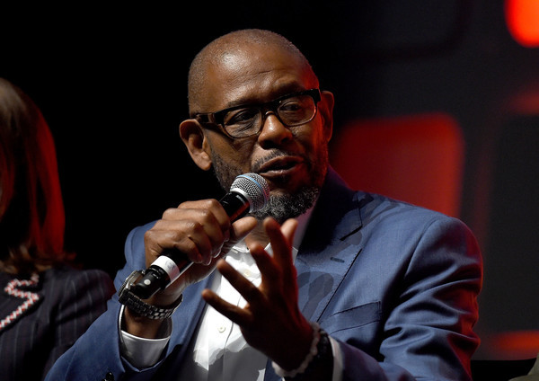 Forest Whitaker on stage during the Rogue One Panel at the Star Wars Celebration 2016 at ExCel on July 15, 2016 in London, England.