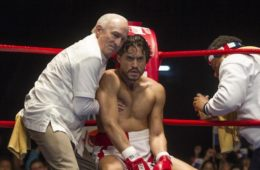 Emmy nominated Edgar Ramirez and Academy Award winner Robert De Niro star in The Weinstein Company presentation of Hands of Stone, based on the life of Roberto Duran.