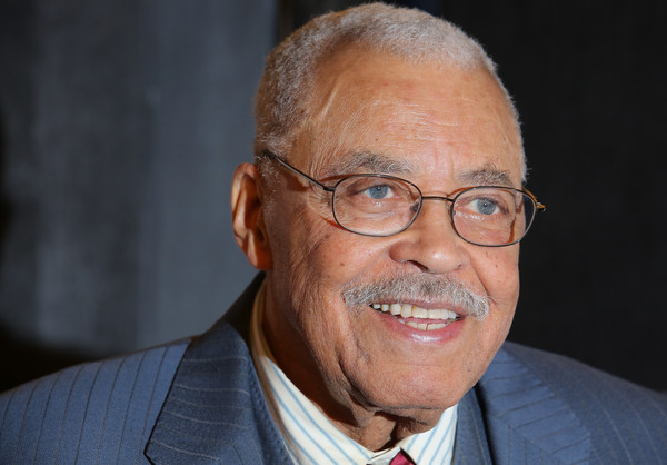 """Actor James Earl Jones attends the """"The Gin Game"""" Broadway opening night after party at Sardi's on October 14, 2015 in New York City."""