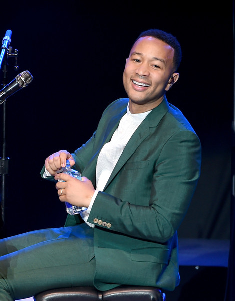"Musician John Legend performs onstage during the ""Hillary Clinton: She's With Us"" concert at The Greek Theatre on June 6, 2016 in Los Angeles, California."