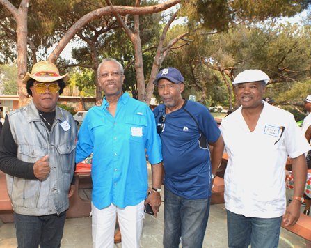 (L-R) Andy Harland, Cornelius Grant, Quentin Dennard, Larry Buford