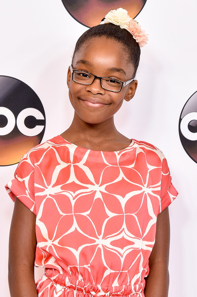 Actress Marsai Martin attends the Disney ABC Television Group TCA Summer Press Tour on August 4, 2016 in Beverly Hills, California.