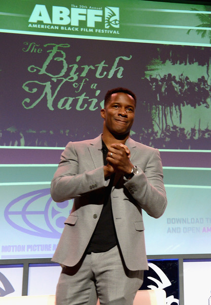Nate Parker attends The American Black Film Festival first look at 'A Birth Of A Nation' on June 17, 2016 in Miami Beach, Florida